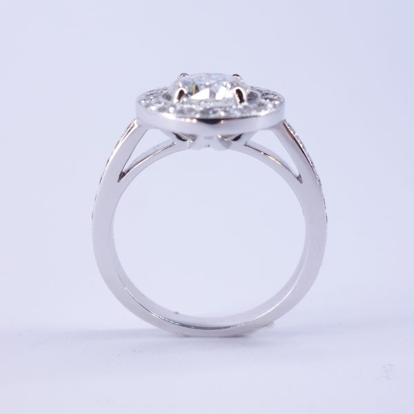 bague diamants ronde