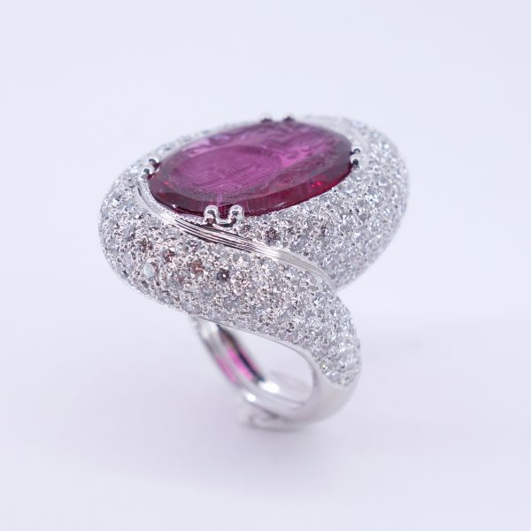 bague serti intaille