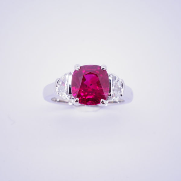 bague rubis d'excpetion
