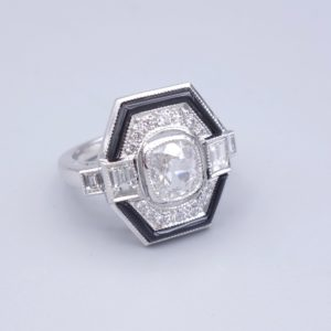 bague art deco paris