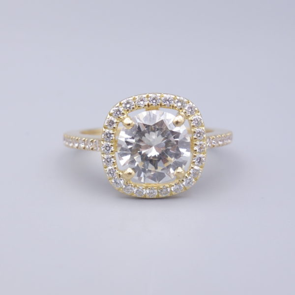 bague diamant d'occasion